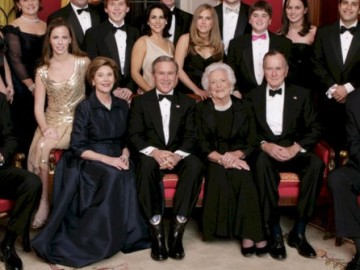 Regardons de plus près la Famille Bush