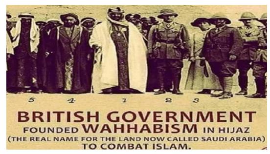 Secte wahhabite et les desseins impérialistes des Britanniques
